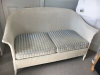 Vintage 1930s Lloyd Loom sofa and chairs