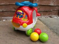 VTech Learn and Sort Helicopter, baby toy, 12m-36m, good used condition