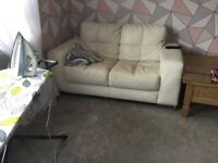 2 seater + 2, arm chairs