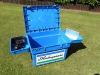 'Shakespeare' Seat Box with Trays.