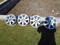 "Volvo 16"" Alloys(will fit Focus, Mondeo) Used Condition"