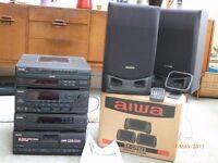 aiwa stereo system Z-D400M