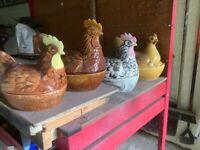 Free Ceramic Chicken egg baskets