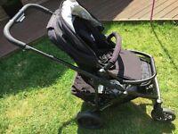 Uppa Baby Vista Pram & Buggy (2014 model) in Black