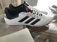 Adidas studded football boots size 9