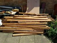 Long used timber