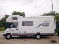 Mercedes Hymer Starline C640 LEFT HAND DRIVE - 2001/Y for sale at Kent Motorhome Centre