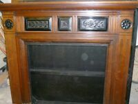 Fireplace surround aok arts and crafts style