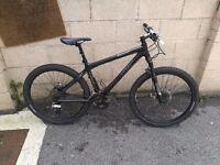 Carbon fibre giant xtc mountain bike NOT specialized cannondale cararer kona