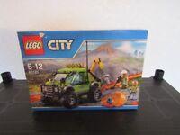 lego city volcano exploration set 60121