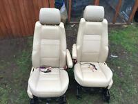Range Rover sport L320 full cream leather interior with DVDs players in headrests
