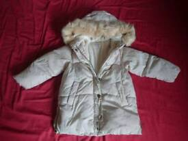 Girl coat 3-4 year