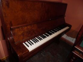 stunning upright piano by c bechstein