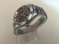 41mm dial Rolex Oyster Datejust Automatic Watch with Black dial