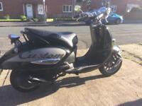 2011 Aprillia Mojito 125cc custom scooter