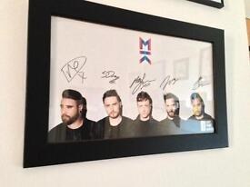 Mallory Knox Signed and Framed Poster