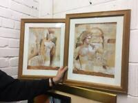 Two art prints