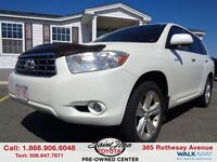 2009 Toyota Highlander V6 Limited $219.22 BI WEEKLY!!!