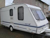 (2001)2 BERTH SKY CORONETTE CARAVAN £2,800 (limited Edition) with many extras included