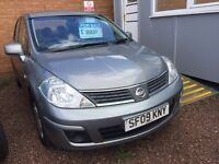 BARGAIN-----2009 NISSA TIDA 1.6 PETROL -- LONG MOT-- GOOD CONDITION/- FAMILY CAR