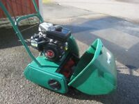 Qualcast Classic 35SK Petrol Lawnmower Fully Serviced Kawasaki Engine Great Mower Great Results