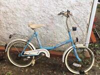 Small wheeled shopping bike