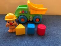 Fisher price laugh & learn - puppy dump truck