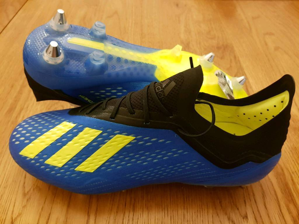 premium selection a1c03 3e87e Adidas X18.1 SG Blue Size 9 Energy Pack Football Boots | in Lytham St  Annes, Lancashire | Gumtree