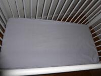 John Lewis Cot spring mattress
