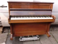 CHALLEN AND SONS SMALL PIANO SUIT BEGINNER TUNED CAN DELIVER £120