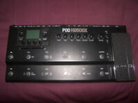 Line 6 POD HD500X - Multi-Effects Processor & Amp Emulator for Guitar , Bass and Vocal.