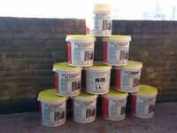 10x 25kg KA Tanking Slurry Grey Bucket Water Damp Proofing Masonry Basement Cellar Swimming Pool