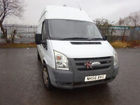 07 FORD TRANSIT 100 T350RWD 2.5 DIESEL,MOT JULY 018,2 OWNERS FROM NEW,PART HISTORY,VERY CLEAN VAN