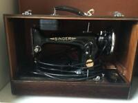 Retro Singer Sewing Machine
