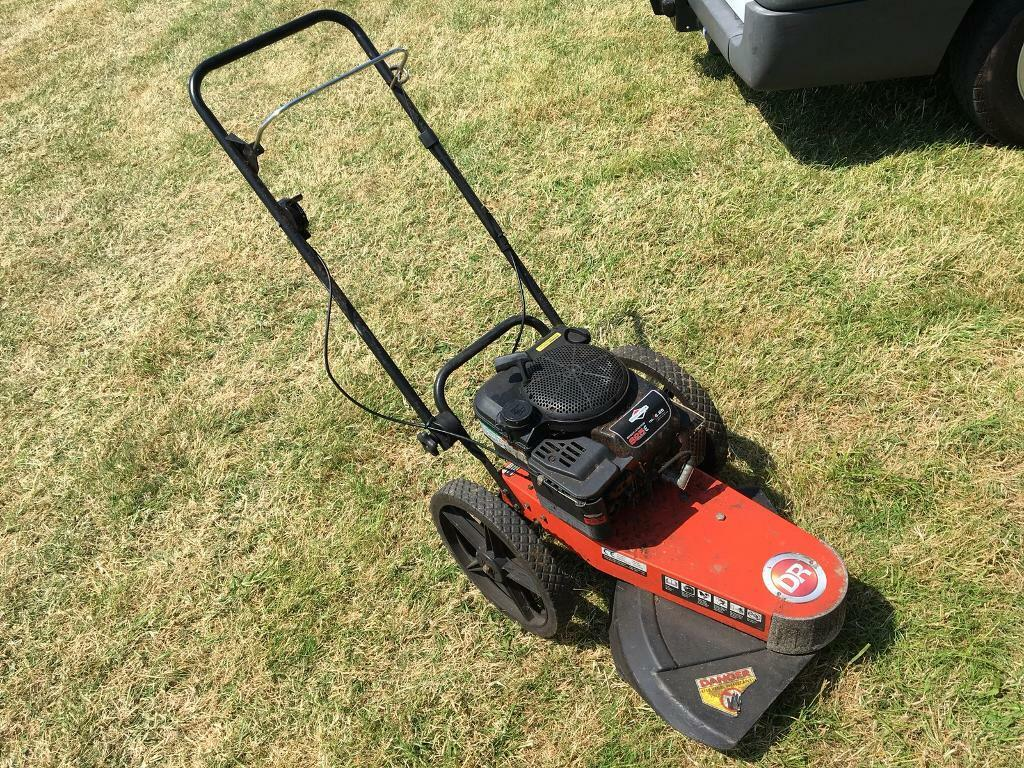 DR Walk behind trimmer wheeled strimmer brush cutter mower | in Newton  Abbot, Devon | Gumtree