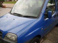FIAT DOBLO 2003 1.9 MPV SPARES OR REPAIR