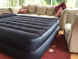 Self inflating air mattress, Intex (plug in)