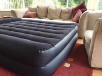 Self inflating air mattress, Intex (plug in)