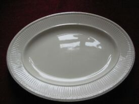 Wedgwood Edme Oval Serving Platter