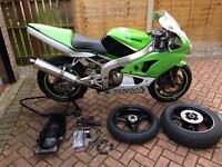 Zx6r 636 52 v5 track bike