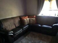 5 seat corner recliner couch/sofa