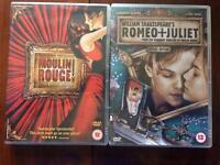 DVD - Baz Luhrmann - Moulin Rouge & Romeo + Juliet