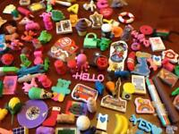 Novelty Erasers over approx 200+