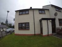 3 bedroom house for sale in Newtonmore, immediate entry & in very good condition.