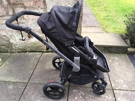 Concord Wanderer Baby Pram (black)