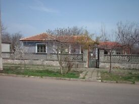 Varna, Bulgaria. House, land & outbuildings make ideal smallholding. Cheap rent with option to buy.