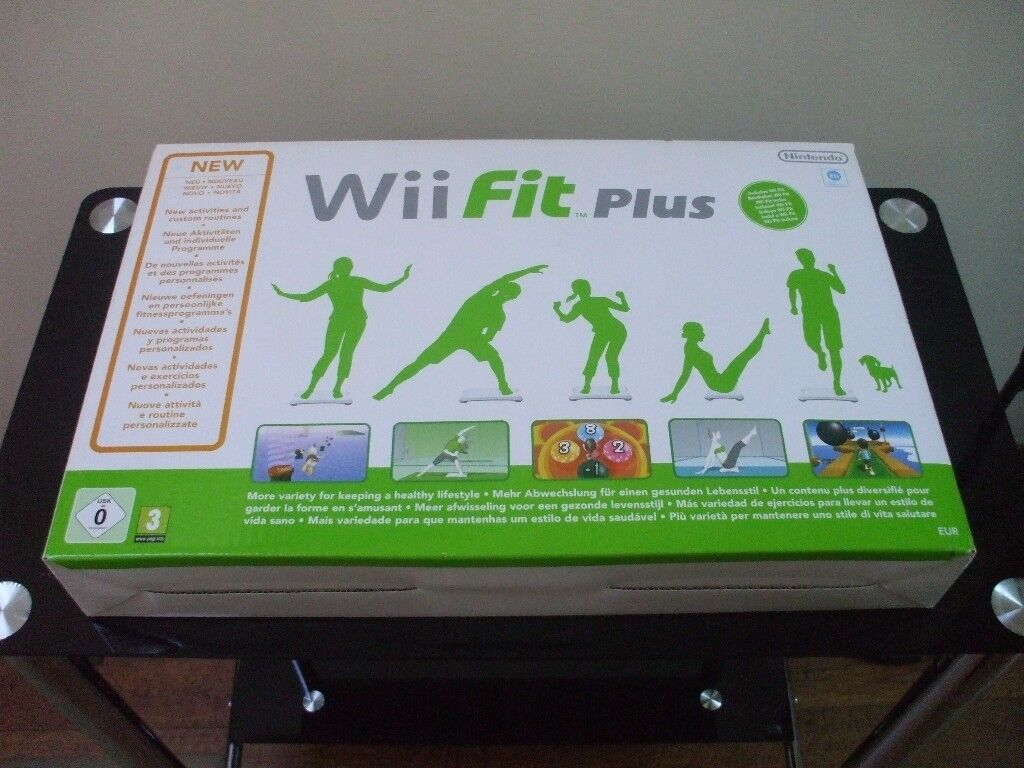 BRAND NEW IN BOX WiFit Plus Game - NEVER USED - Excellent Condition