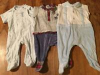Baby Boys clothes 0-3 baby suits