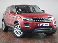 LAND ROVER RANGE ROVER EVOQUE 2.2 SD4 PURE 5DR AUTO [9] [TECH PACK] (red) 2014