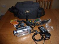 JVC Digital Zoom Camcorder 700X